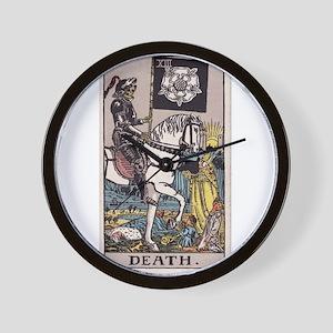 """Death"" Wall Clock"