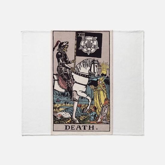 """Death"" Throw Blanket"