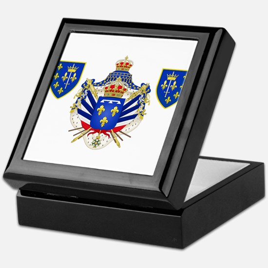 Extravagant Coat of Arms Keepsake Box