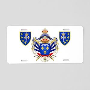 Extravagant Coat of Arms Aluminum License Plate