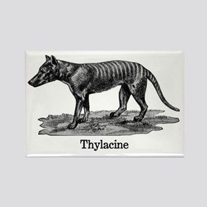 Thylacine 2 Rectangle Magnet