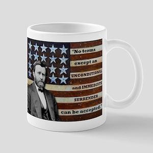 """Unconditional Surrender"" Mug"