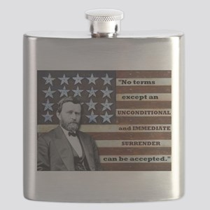 """Unconditional Surrender"" Flask"