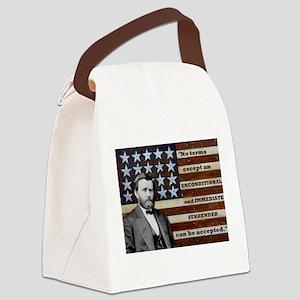 """Unconditional Surrender"" Canvas Lunch Bag"