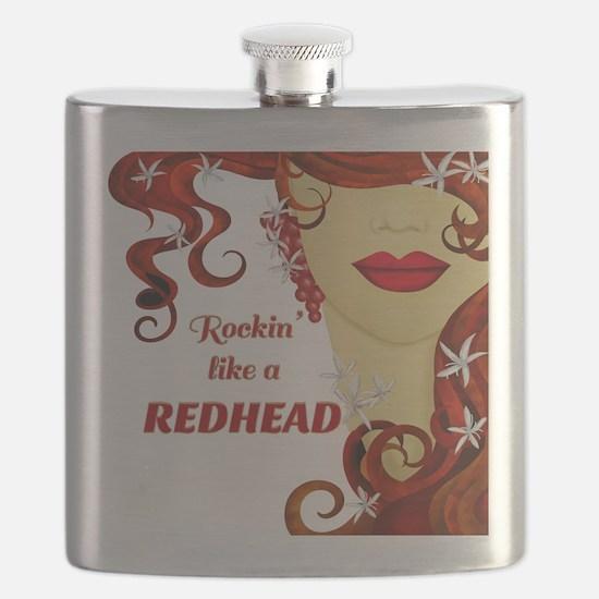 Rockin' like a REDHEAD Flask