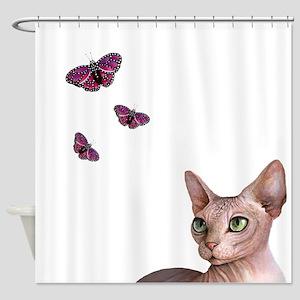 cat 578 Shower Curtain