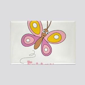 Butterfly Friday Rectangle Magnet