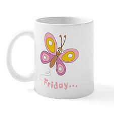Butterfly Friday Mug