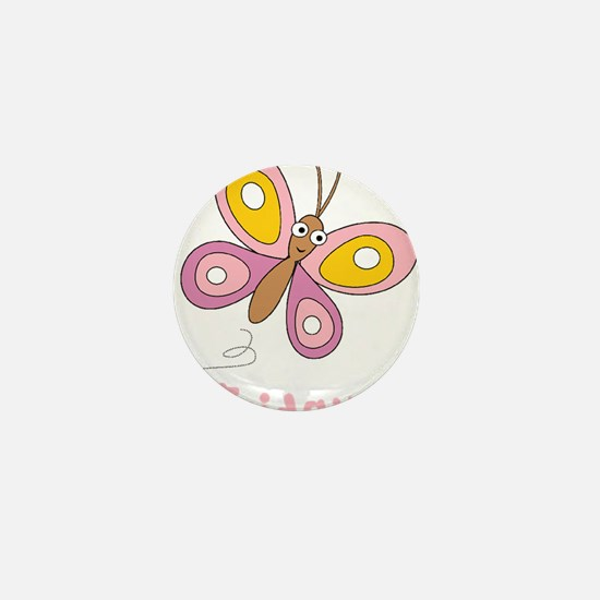 Butterfly Friday Mini Button