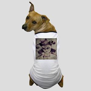 gothic grunge renaissance joker Dog T-Shirt