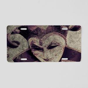 gothic grunge renaissance j Aluminum License Plate