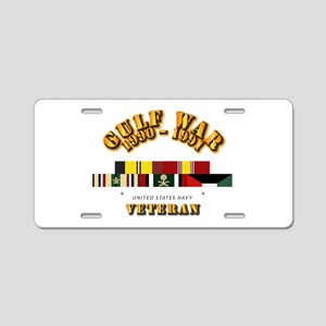 Navy - Gulf War 1990 - 1991 Aluminum License Plate