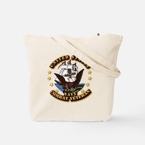 Navy - Gulf War 1990 - 1991 w - CAR - Se Tote Bag