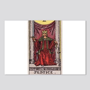 """""""Justice"""" Postcards (Package of 8)"""