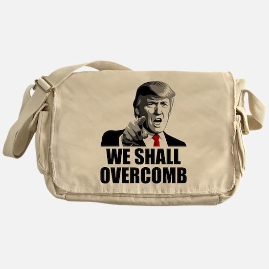 We Shall Overcomb Messenger Bag