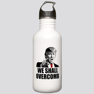 We Shall Overcomb Water Bottle