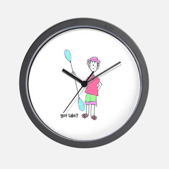 Got Lake? Wall Clock