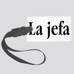 La jefa Luggage Tag