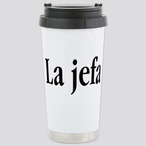 La Jefa Stainless Steel Travel Mug