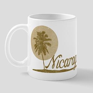 Palm Tree Nicaragua Mug