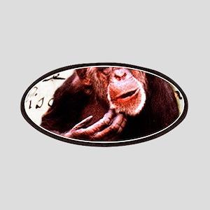 Cute ape funny chimpanzee Patch