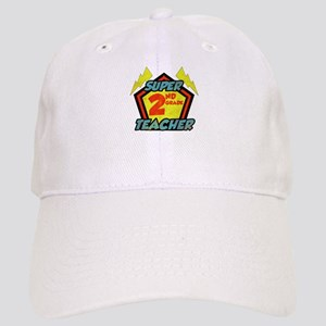 Super Second Grade Teacher Cap