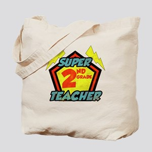 Super Second Grade Teacher Tote Bag
