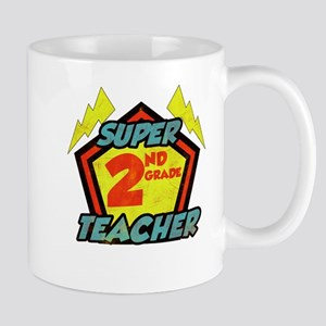 Super Second Grade Teacher Mug