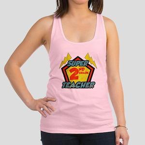 Super Second Grade Teacher Racerback Tank Top