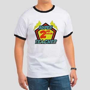 Super Second Grade Teacher Ringer T