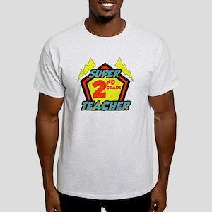 Super Second Grade Teacher Light T-Shirt