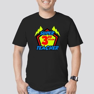 Super Third Grade Teac Men's Fitted T-Shirt (dark)