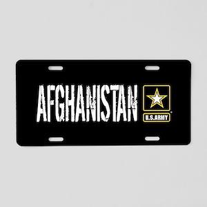 U.S. Army: Afghanistan (Bla Aluminum License Plate