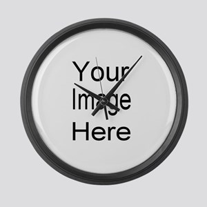 Add your own picture Large Wall Clock