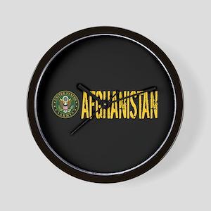 U.S. Army: Afghanistan Wall Clock