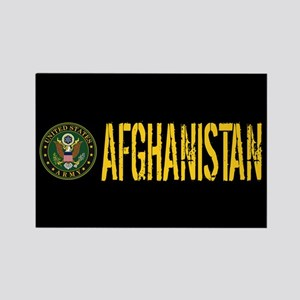 U.S. Army: Afghanistan Rectangle Magnet