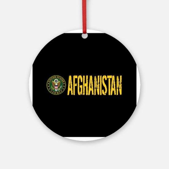 U.S. Army: Afghanistan Round Ornament