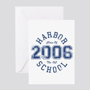 Harbor Class Of 2006 The OC Greeting Cards