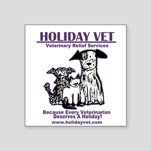 Holiday Vet Services Sticker