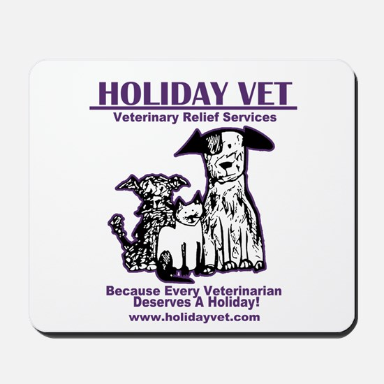Holiday Vet Services Mousepad