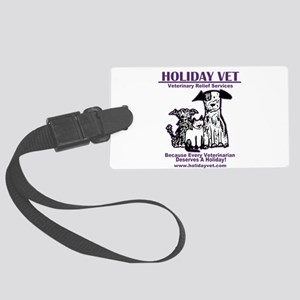 Holiday Vet Services Luggage Tag