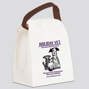 Holiday Vet Services Canvas Lunch Bag