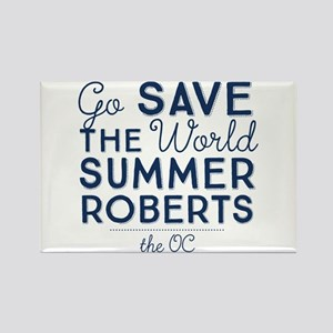 Go Save The World Summer Roberts The OC Magnets