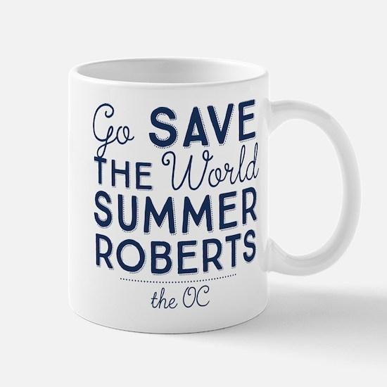 Go Save The World Summer Roberts The OC Mugs