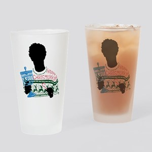 Happy Chrismukkah The OC Drinking Glass