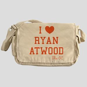I Love Ryan Atwood The OC Messenger Bag