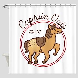 Cute Captain Oats The OC Shower Curtain