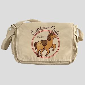 Cute Captain Oats The OC Messenger Bag
