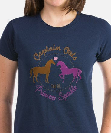 Captain Oats Princess Sparkle The OC T-Shirt