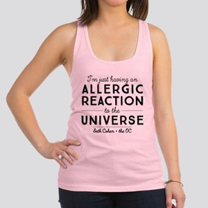Allergic Reaction To The Universe The OC Racerback